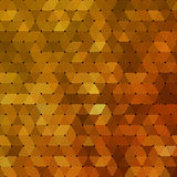 Abstract geometrical multicolored background consisting of triangular elements Stock Photography