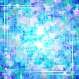 Abstract geometrical multicolored background with light lines borders. Vector Illustration EPS10 Vector Illustration