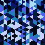 Abstract Geometrical Multicolored mosaic Royalty Free Stock Image