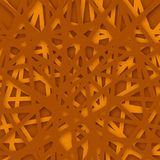Abstract geometrical orange background. Vector Illustration. Textured background Stock Photography