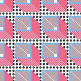 Abstract geometrical pattern Stock Image
