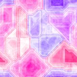 Abstract geometrical pink purple seamless pattern texture background Royalty Free Stock Photos