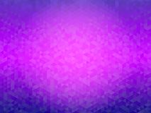 Abstract geometrical purple background. Geometric background in. Triangle style with gradient color royalty free illustration