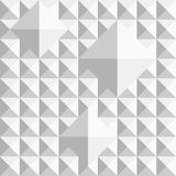 Abstract geometrical seamless pattern with squares Stock Images