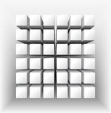 Abstract geometrical shape. Royalty Free Stock Image
