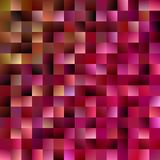 Abstract geometrical square background - gradient mosaic vector illustration. From squares royalty free illustration