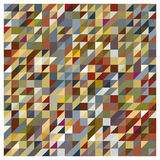 Abstract geometrical tones. Abstract geometrical background in earth tones stock illustration
