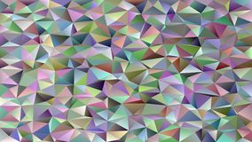 Abstract geometrical triangle tile mosaic background - vector graphic from triangles in colorful tones Stock Photography