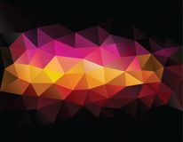 Abstract geometrical triangles background Royalty Free Stock Images