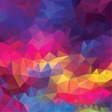 Abstract geometrical triangles background Royalty Free Stock Photography