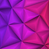 Abstract geometrical violet background. Vector Illustration Stock Images