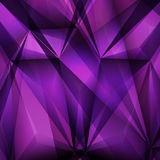 Abstract geometrical Violet background. Vector Illustration. Clip-art Royalty Free Stock Photo