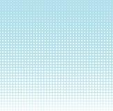 Abstract geometrisch blauw gradiënt vierkant halftone patroon Royalty-vrije Stock Afbeeldingen