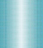 Abstract geometrisch blauw gradiënt vierkant halftone patroon Stock Foto