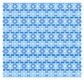 Abstract geometrisch blauw patroon Stock Foto's