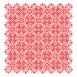 Abstract geometrisch bloempatroon Stock Fotografie