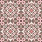 Abstract geometrisch Boheems etnisch naadloos patroon sier Stock Foto's
