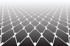Abstract geometrisch diamantenpatroon Verminderend Perspectief stock illustratie