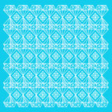 Abstract geometrisch diamantpatroon Stock Foto's