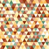 Abstract geometrisch driehoeks naadloos patroon Royalty-vrije Stock Fotografie