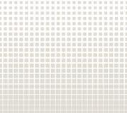 Abstract geometrisch grijs gradiënt vierkant halftone patroon Stock Afbeelding