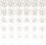Abstract geometrisch grijs gradiënt vierkant halftone patroon Stock Afbeeldingen