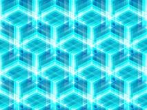 Abstract geometrisch isometrisch vector naadloos patroon Stock Fotografie