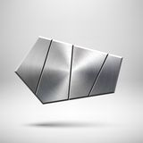 Abstract Geometrisch Knoopmalplaatje Royalty-vrije Stock Foto