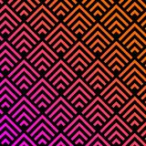 Abstract geometrisch modern stammenpatroon als achtergrond Royalty-vrije Illustratie