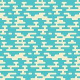 Abstract geometrisch naadloos het hoofdkussenpatroon van de hipstermanier rand Stock Afbeelding