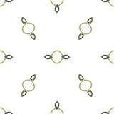 Abstract Geometrisch naadloos kleurloos patroon op witte achtergrond Stock Afbeeldingen
