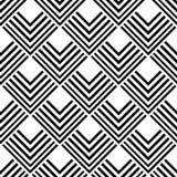Abstract geometrisch naadloos patroon Stock Fotografie