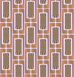 Abstract geometrisch naadloos patroon stock illustratie