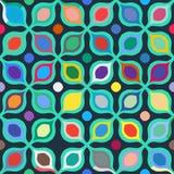 Abstract geometrisch naadloos patroon vector illustratie