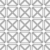 Abstract geometrisch naadloos patroon Royalty-vrije Stock Afbeelding
