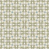 Abstract geometrisch naadloos patroon Royalty-vrije Stock Foto