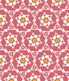 Abstract geometrisch naadloos patroon Stock Foto