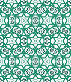 Abstract geometrisch naadloos patroon Stock Afbeelding