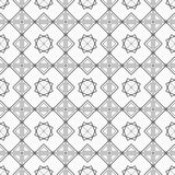 Abstract geometrisch naadloos patroon royalty-vrije illustratie
