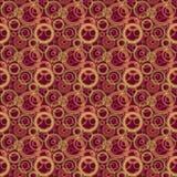 Abstract geometrisch naadloos patroon - achtergrond met kleurrijk c Stock Foto's