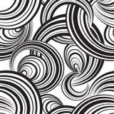 Abstract geometrisch naadloos patroon De achtergrond van de bel cirkels Stock Afbeeldingen