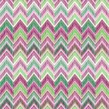 Abstract geometrisch naadloos patroon De zigzaglijn van de stoffenkrabbel Royalty-vrije Stock Foto's
