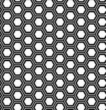Abstract geometrisch naadloos patroon Hexagon achtergrond Stock Foto