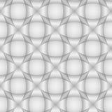 Abstract geometrisch naadloos patroon Lichte 3d achtergrond of muur Stock Foto
