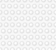Abstract geometrisch naadloos patroon met cirkels stock illustratie