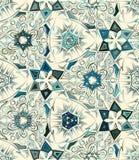 Abstract geometrisch naadloos patroon met dierlijke druk In hand getrokken texturen Modern abstract ontwerp voor affiche Stock Foto