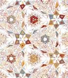 Abstract geometrisch naadloos patroon met dierlijke druk In hand getrokken texturen Modern abstract ontwerp voor affiche Stock Illustratie