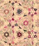 Abstract geometrisch naadloos patroon met dierlijke druk In hand getrokken texturen Modern abstract ontwerp voor affiche Royalty-vrije Stock Fotografie
