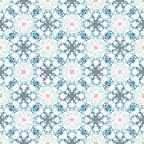 Abstract geometrisch naadloos patroon met vogels Royalty-vrije Stock Foto
