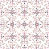 Abstract geometrisch naadloos patroon met vogels Royalty-vrije Stock Fotografie
